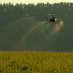Remote Control Helicopter Crop Dusting