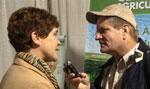 Krysta Harden talking with Randall Weiseman