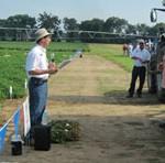 Dr. Barry Tillman, NFREC Peanut Breeder. Photo credit Doug Mayo