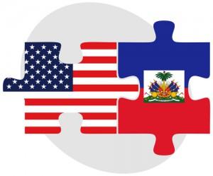 USA and Haiti Flags