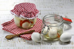 homemade pickled eggs
