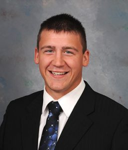 North Dakota Corn Growers Association President Carson Klosterman