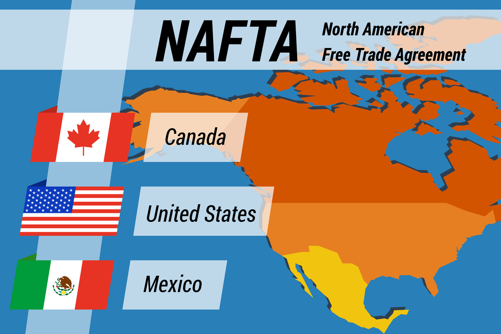 Nafta Negotiations Mexico Close Canada Talks Not Close Southeast