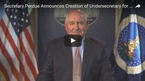 perdue undersecretary