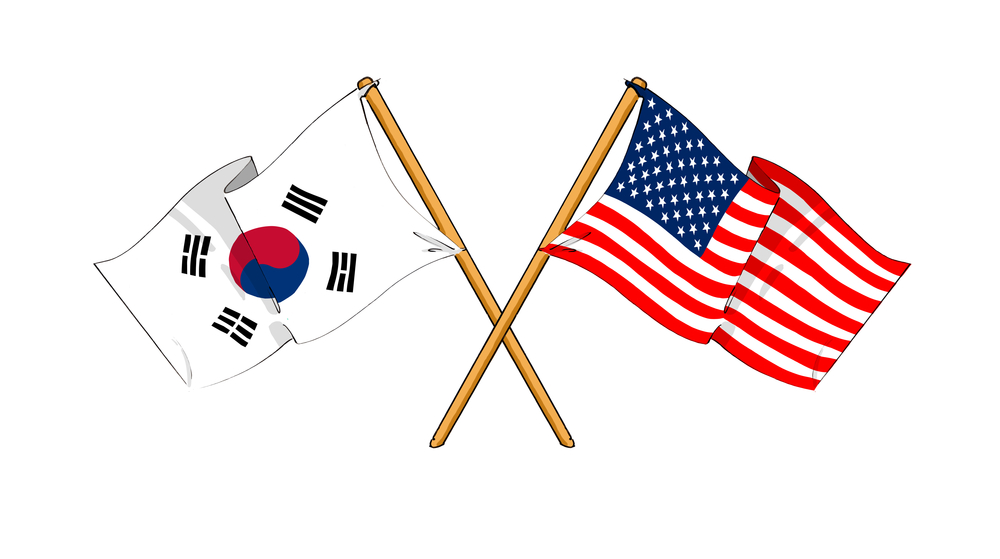 Presidents Of Us And South Korea Sign Free Trade Agreement
