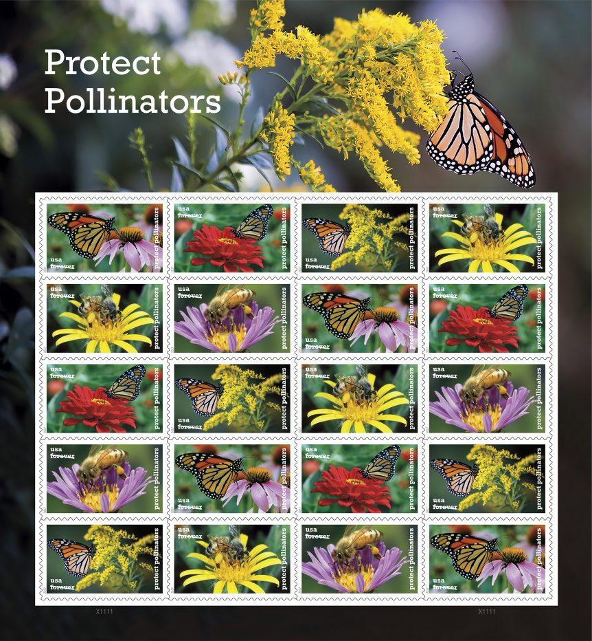 pollinators stamps