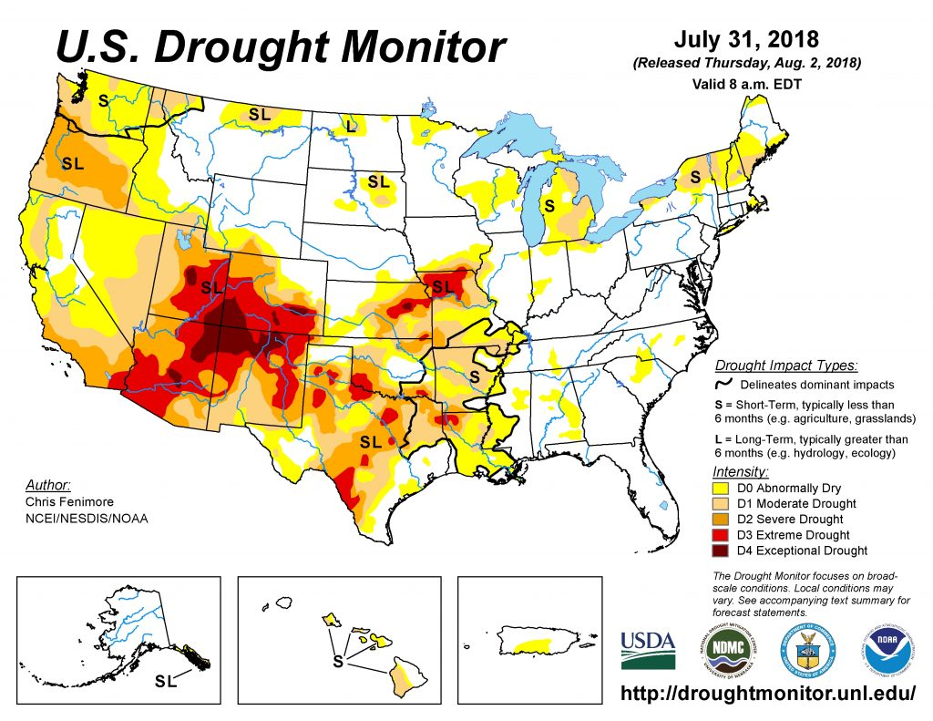 Drought Monitor Shows Continued Dryness - Southeast AgNET